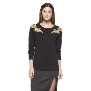 Altuzarra For Target Embroidered Crane Sweater
